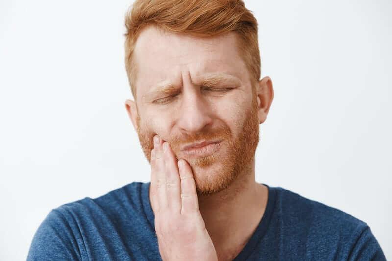 gum disease hurting