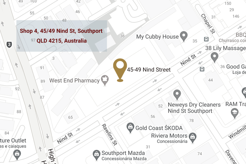 Map of Gold Coast Dentist | Southport Dentist